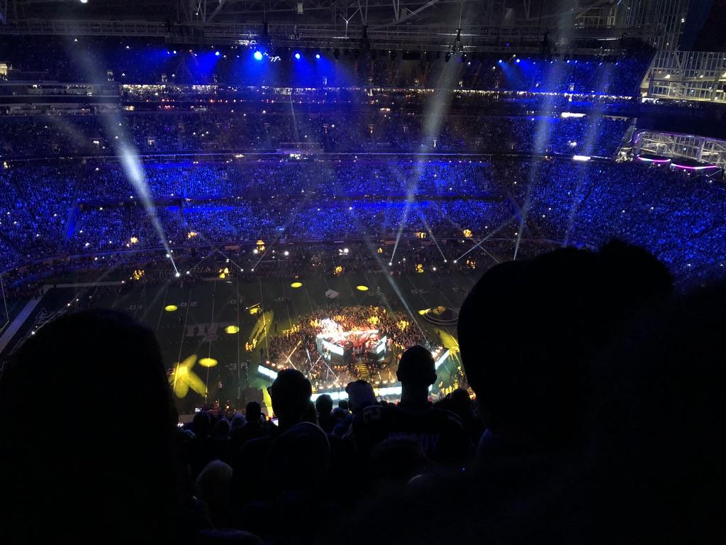 Show do intervalo com Justin Timberlake no Super Bowl.